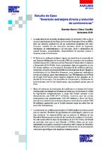 """Estudio de caso """"Inversión extranjera directa y solución de controversias"""""""
